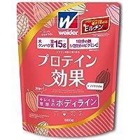 ウイダー プロテイン効果 ソイカカオ味 660g (約30回分) ソイプロテイン ボディメイク用プロテイン 鉄分 ビタミ…