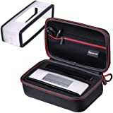 Smatree Bose SoundLink Mini/Mini 2 Bluetooth スピーカー 収納ケース EVAハードケース 黒(ソフト保護カバー 付き)12ヶ月安心保証付き