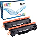 Compatible with HP CF248A Printer Toner Cartridge,2Packs ,Compatible Replacement of HP Laserjet Pro M15a M15w M16a M16w MFP M