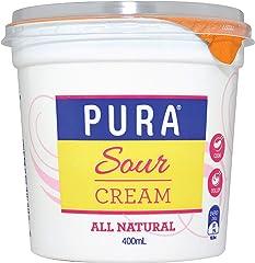 Pura Full Fat Sour Cream, 400g - Chilled