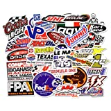Car Stickers [50 Pieces], Laptop Stickers Motorcycle Bicycle Skateboard Luggage Decal Graffiti Patches Stickers for Laptop [N