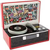【予約商品】 BEATLES ビートルズ (Let It Be 50周年記念) - Singles Collection Record Player型クッキージャー/インテリア置物 【公式/オフィシャル】