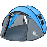 HUI LINGYANG Easy Pop Up Tent-Automatic Setup- Instant Family Tents for Camping,Hiking & Traveling