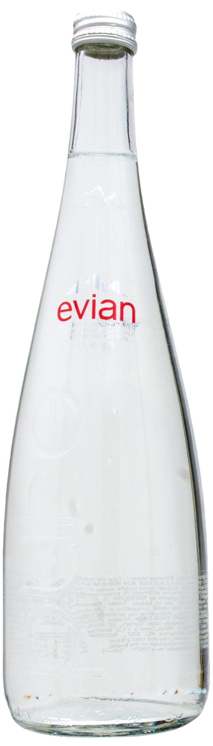 エビアン ミネラルウォーター 瓶 750mlx12本