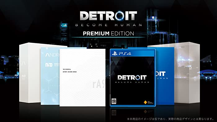 Detroit: Become Human Premium Edition【早期購入特典】PS4用テーマ (封入) 【Amazon.co.jp限定】アイテム未定
