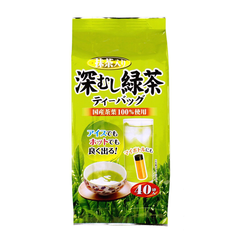 大井川茶園 深蒸し緑茶 40包入 120g×2