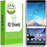 IQShield Screen Protector Compatible with Samsung Galaxy Note 8 (2-Pack)(Case Friendly)(Not Glass) LiquidSkin Anti-Bubble Cle