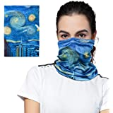 Neck Gaiter Balaclava Bandana Headwear Summer Face Mask Breathable Seamless Neck Gaiter Shield Scarf Bandana for Men Women