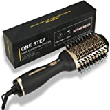 Hair Dryer Hot Air Brush Ions Aibesser Hot Air Brush with Ion Technology Hot Air Comb, 2021 Latest Hair Dryer and Volumizer S