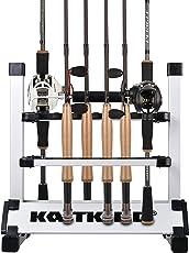 カストキング(KastKing)ロッドスタンド 12本/24本 釣り竿スタンド 竿立て アルミ軽量 簡単な組み立て