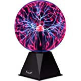 Plasma Ball -7.5 Inch - Nebula Thunder Lightning Plug-In - For Parties Decorations Prop Kids Bedroom Home And Gifts - By Katz
