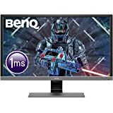 BenQ 28 inch 4K HDR Gaming Monitor, 1ms Response Time, UHD, Free-Sync, Brightness Intelligence Plus, HDMI, Speakers,28/inch,E