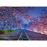 500ピース ジグソーパズル KAGAYA 夢の軌道(京都) 【光るパズル】 (38x53cm)