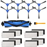 Keenstone Parts Kit for Eufy RoboVac 11S, RoboVac 30, RoboVac 30C, RoboVac 15C, RoboVac 12, RoboVac 35C Robotic Vacuum Cleane