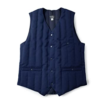 Six Month Vest Wool Serge: Navy