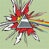 ピラミッドインターナショナルピンクフロイド(ムーンポップアートのダークサイド) - スタンパステラ60 x 60 cm、レグノ、マルチカラー、60 x 60 x 1.3 cm