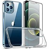 ガラスフィルム クリアケース iphone12/iphone 12 proに対応して 6.1インチ 全面液晶保護 硬度9H 高透過率99% 高耐衝撃性 キズ防止 指紋防止 軽量 tpuカバー 柔軟 シリコン 黄ばみ防止[ガラスフィルム+ケース]
