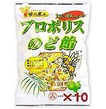 蜂の恵み プロポリスのど飴 100g×10袋セット