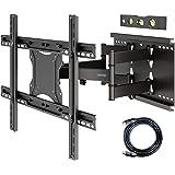 1homefurnit 壁掛けテレビ 金具 テレビ壁掛け金具 37-80インチLCD/LED/PLASMA/OLED対応…