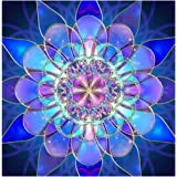 EOBROMD 5D DIY Diamond Painting Kit, Crystal Rhinestone Diamond Embroidery Paintings Pictures Arts Craft for Home Wall Decor