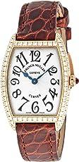 [フランクミュラー]FRANCK MULLER 腕時計 トノウカーベックス シルバー文字盤 ダイヤモンド 1752QZD SLV BRW 5N レディース 【並行輸入品】