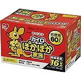 アイリスオーヤマ カイロ レギュラー 60個入 ぽかぽか家族