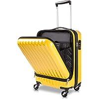 TABITORA(タビトラ)スーツケース 機内持込 トップオープン フロントオープン 人気 ビジネス 出張 レトロ キャ…