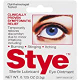 Stye Sterile Lubricant Eye Ointment | Ophthalmologist Tested | 0.125 FL OZ