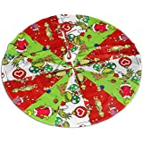 Christmas Tree Skirt, Christmas Decorations Xmas Party Supplies Holiday Tree Ornament for Gift 36 inches