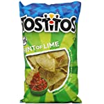 Tostitos Hint of Lime Tortilla Chips, 283.5g