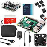 Vilros Raspberry Pi 4 Complete Kit with Clear Transparent Fan Cooled Case (8GB)