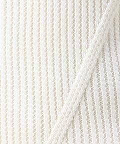 Wool Rib Crewneck Sweater 1213-106-3012: White