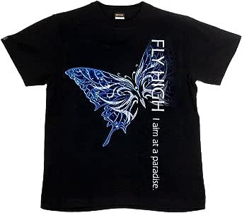 [GENJU] Tシャツ 蝶 バタフライ アメカジ 裏もデザイン有 メンズ キッズ