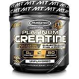 Creatine Monohydrate Powder, MuscleTech Platinum Creatine Powder, Pure Micronized Creatine Powder, Post Workout Supplement fo