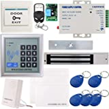 UHPPOTE Full Complete 125KHz EM-ID Card 1 Door Security Access Control Entry System Kit With Electric 600Lbs 280KG Force Magn