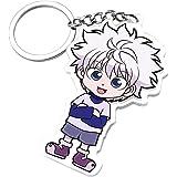 Hunter X Hunter Keychain Anime Merch Figure for keys Cute Kawai Killua Plush HXH Anime Gifts for Adults Kids