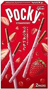 江崎グリコ つぶつぶいちごポッキー 2袋 ×10個