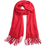 Premium Large Cashmere Scarf - Pashima Shawls And Wraps for Women in Fall & Winter
