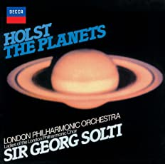 ホルスト:組曲「惑星」、エルガー:威風堂々第1番-第5番