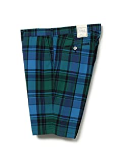 Madras Shorts 11-25-1545-139: Blue
