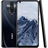 6.8 Inch Unlocked Smartphones,Xgody K30 Android 10.0 Cell Phone, Dual Sim Free Phones,Dual 5MP + 64GB Storage(Black)