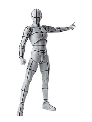 S.H.フィギュアーツ ボディくん -ワイヤーフレーム-(Gray Color Ver.) 約150mm PVC&ABS…
