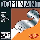 Thomastik-Infeld 130MS4/4 Dominant 4/4 Scale Nylon Core Violin E-String, Wound/Loop, Medium Gauge