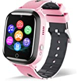 Smart Watch for Kids - Children Smartwatch Boys Girls with 7 Intelligent Games Music MP3 Player HD Selfie Camera Calculator A