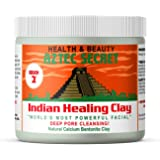 Aztec Secret - Indian Healing Clay - 1 lb. | Deep Pore Cleansing Facial & Body Mask | The Original 100% Natural Calcium Bento