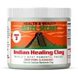 Aztec Secret - Indian Healing Clay - 1 lb. | Deep Pore Cleansing Facial & Body Mask | The Original 100% Natural Calcium Bento