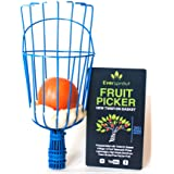 Eversprout Twist-On Fruit Picker Basket | Twists onto Standard US Threaded Pole (3/4'' ACME) | Fruit Harvester Attachment (He