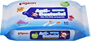 Pigeon Anti-Bacterial Wet Tissue Refill, 60ct (Packaging may vary)
