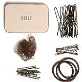 Bloch Dance Unisex-Adult's Hair Kit, Dark Brown, one