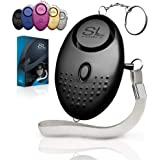 Personal Alarm Siren Song - 130dB Safesound Personal Alarm Keychain with LED Light, Emergency Self Defense for Women, Kids &